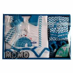 Jual Kiddy Baby Gift Set Jumpsuit Motif 11161 Biru Set Pakaian Bayi Murah