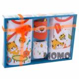 Diskon Produk Kiddy Baby Gift Set Little Cat 11169 Orange Set Pakaian Bayi Motif Kucing