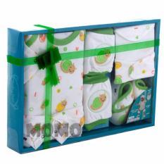 Beli Kiddy Baby Gift Set Motif Snail 11168 Satu Set Pakaian Bayi Motif Siput Kiddy Dengan Harga Terjangkau