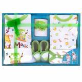 Harga Kiddy Baby Gift Set Music 11143 Hijau Set Pakaian Bayi New