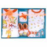 Promo Kiddy Baby Gift Set Music 11143 Orange Set Pakaian Bayi Indonesia