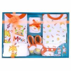 Jual Beli Kiddy Baby Gift Set Music 11143 Orange Set Pakaian Bayi Indonesia