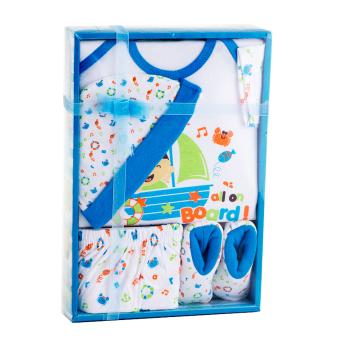 Beli sekarang Kiddy Baby Gift Set Nelayan Biru 11162 - Satu Set Baju Perlengkapan Bayi terbaik murah - Hanya Rp59.215