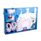 Kiddy Baby Gift Set Owl Biru 11150 Set Pakaian Bayi Diskon Banten