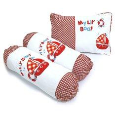 Harga Kiddy Baby Pillow Set Kd2621 Merah Yg Bagus