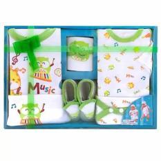 Jual Beli Kiddy Baby Set Circus Hijau 11143 Set Pakaian Bayi