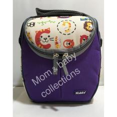 Spek Kiddy Cooler Bag Alphabet Animal 5094 Ungu Kiddy