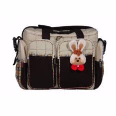 Beli Kiddy Diaper Bag Kd5085 Coklat Dengan Kartu Kredit