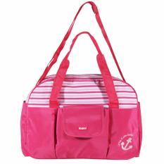 Spesifikasi Kiddy Diaper Bag Tas Bayi Kd5017 Pink Beserta Harganya