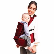 Jual Kiddy Gendongan Bayi Carrier Hip Seat Red