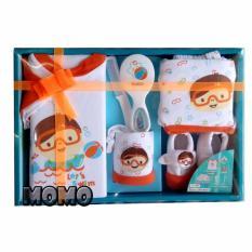 Spesifikasi Kiddy Gift Set Snorkeling Orange 11160 Paket Baju Bayi Lengkap