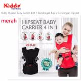 Harga Kiddy Hipseat Baby Carrier 4 In 1 Merah Termahal
