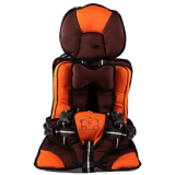 Toko Kiddy Portable Baby Car Seat Car Cushion Booster Seat Orange Kiddy