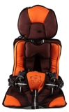 Obral Kiddy Portable Car Seat Oranye Murah