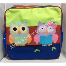 Spesifikasi Kiddy Tas Baby Diaper Bag Bordir Tas Popok Bayi 5002 Burung Hantu Murah