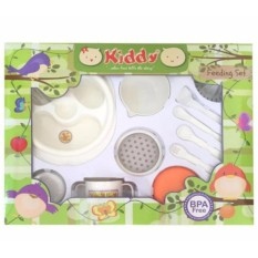 Spesifikasi Kiddy Tempat Makan Bayi Kiddy Feeding Set With Baby Food Maker Kiddy