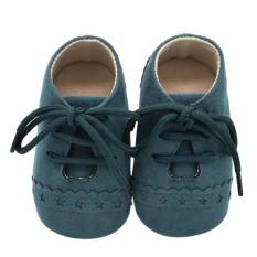 Kids Baby Lacing Prewalker Anti-slip Soft Sole Shoes(Brown 11 Not Specified) - intl