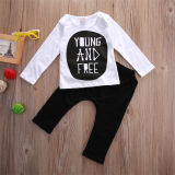Spesifikasi Kids Baby Lengan Panjang T Shirt Tops Celana Set 2 Pcs 18 M Lengkap Dengan Harga