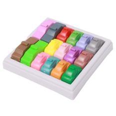 Anak-anak Pendidikan Mainan IQ Diblokir Mobil Brain Teaser Puzzletoy Multicolor-Intl