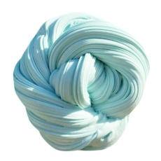 Finleystore Anak-anak Fluffy Floam Lendir Scented Stress Relief Tanpa Borax Anak-anak Clay
