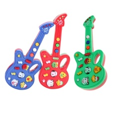 Kids Foxy Electronic Guitar Rhyme Developmental Music Sound Toy - intl