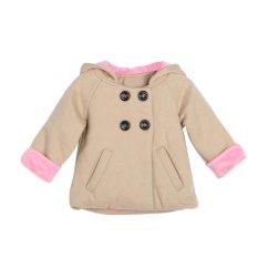 Anak-  anak Gadis Kelinci Lucu Hoodie Mantel Hangat Baju Atasan Katun-  Intl