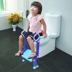 Anak-anak Toilet Potty Kursi Pelatih Langkah Up Training Stool Chair Balita dengan Tangga-Intl