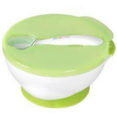 Beli Kidsme Suction Bowl With Ideal Spoon Set Hijau Pake Kartu Kredit