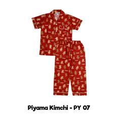 Harga Kimchi Piyama Anak Pendek Baju Tidur Anak Fullset Murah