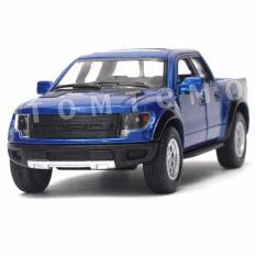 Jual Ford F 150 Raptor Pickup Biru Diecast Miniatur Mobil Mobilan Jip Truck Bak Mainan Anak Cowok Kinsmart Antik