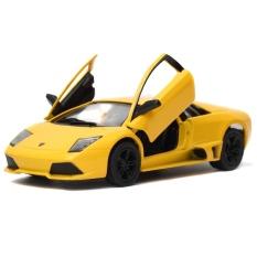 Kinsmart Lamborghini Murcielago LP640 - Kuning 1:36 Diecast Miniatur Mobil Mobilan Mainan   Lamborghini Murcielago LP640 - Kuning 1:36 Diecast Miniatur Mobil Mobilan Mainan