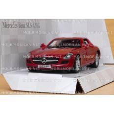 Kinsmart Mercedes Benz Sls Amg Red Banten Diskon