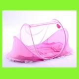 Beli Kl09 Kelambu Bayi Musik Series 3In1 Dengan Kasur Dan Bantal Pink Baru