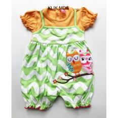 Klik Mds Baju Anak Bayi Jumpsuit Nempel Dengan Dalaman Kaos Motif Burung Hantu Owl Di Dki Jakarta
