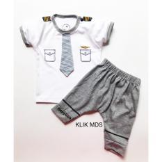 Klik Mds Baju Anak Setelan Atasan dan Celana Motif Karakter Pilot