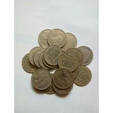 Uang kuno Koin 100 rupiah atau rp100 tebal rumah gadang