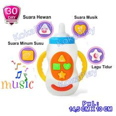 KokaPlay Baby Feeding Bottle Pacifier Learning Toy Mainan Anak Bayi Edukasi Botol Susu Dot Empeng Musik Piano Lampu