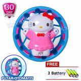 Promo Toko Kokaplay Hello Kitty Hamster Wheel Mainan Rattle Hello Kitty Roda Putar Music Piano Lampu Kerincing Free 3 Baterai