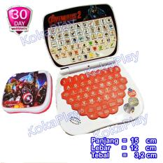 KokaPlay Playpad Laptop Mini 2 in 1 Mainan Belajar Notebook Mini Anak 2 Bahasa Indonesia Inggris