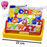 Kokaplay Second Classroom Drawing Board Magnetic Learning Case 2 In 1 Mainan Anak Edukasi Papan Tulis Magnet Huruf A To Z Terbaru