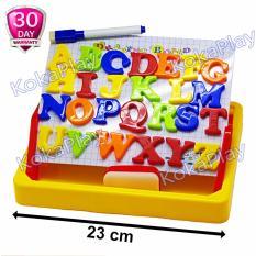 Harga Kokaplay Second Classroom Drawing Board Magnetic Learning Case 2 In 1 Mainan Anak Edukasi Papan Tulis Magnet Huruf A To Z Online
