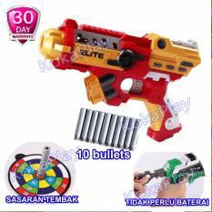 Diskon Kokaplay Soft Bullet Blaster Nerf Bullet Gun Toy Avengers Iron Man Mainan Senapan Pistol Pistolan Tembak Merah Kuning Kokaplay