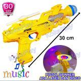 Kualitas Kokaplay Space Gun Spinner Effect Music Light Mainan Anak Edukasi Pistol Pistolan Fidget Spinner Tembak Tembakan Perang Musik Lampu Laser Kokaplay