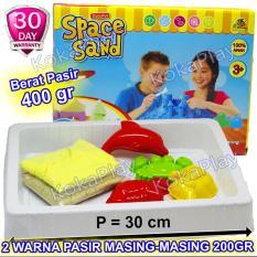 Diskon Besarkokaplay Space Sand 400 Gram 2 Colors Mainan Anak Edukasi Pasir Ajaib 400 Gram 2 Warna 4 Cetakan Sea Animal Dapat Tatakan