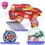 Jual Kokaplay Super Soft Bullet Blaster Nerf Bullet Gun Toy Civil War Iron Man Super Hero Mainan Senapan Pistol Pistolan Tembak Merah Kuning Online Indonesia