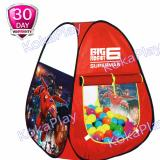 Beli Kokaplay Tenda Mainan Anak Camping Indoor Segitiga Karakter Big Robot Hero 6 Online Indonesia