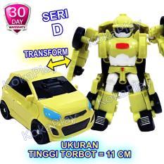 KokaPlay Torbot Mini Tobot C D X Y Series Robocar Transformers Tayo Robot Collection Mainan Anak Mobil Robot Berubah Tobot Pilih Karakter