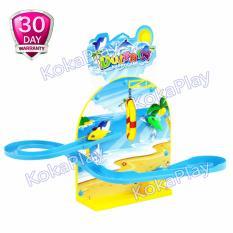 Spesifikasi Kokaplay Track Dolphin Happy Game Mainan Track Seluncuran Musik Lampu Dan Harganya
