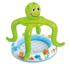 Jual Kolam Renang Bayi Intex Smiling Octopus Shade Baby Pool 57115 Grosir