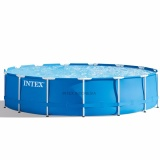 Review Kolam Renang Intex Metal Frame Pool Set 28234 Terbaru